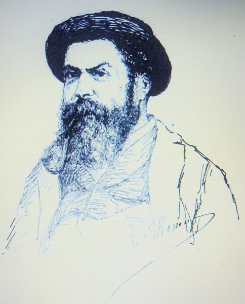 Эмиль Ренуф, «Автопортрет», 1883 г.