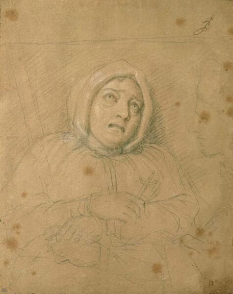 Шарль Лебрен, «Портрет маркизы де Бренвилье»