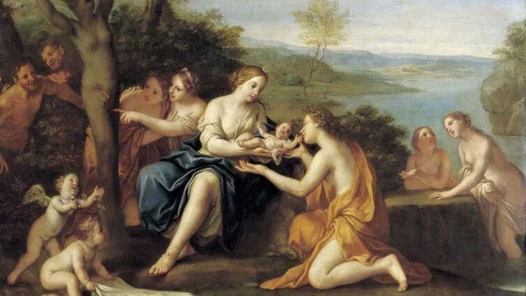 Маркантонио Франческини, «Рождение Адониса», 1685—1690 гг.