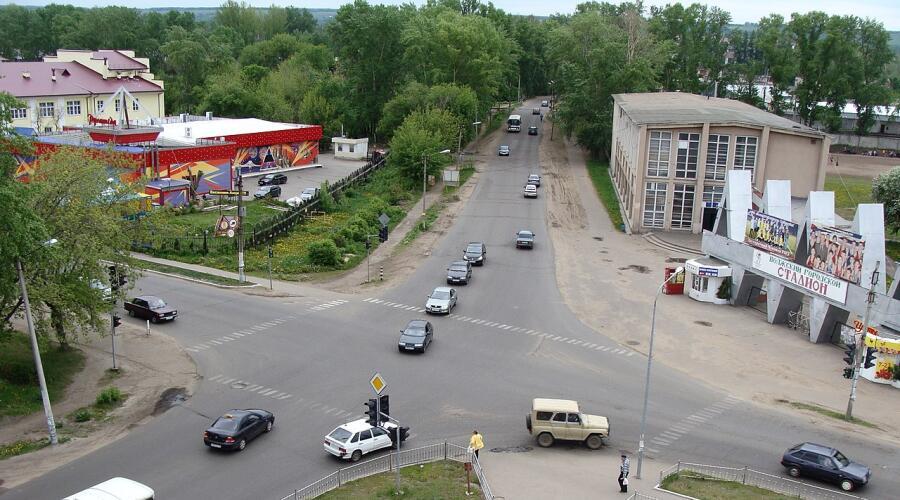 Центр города Волжск