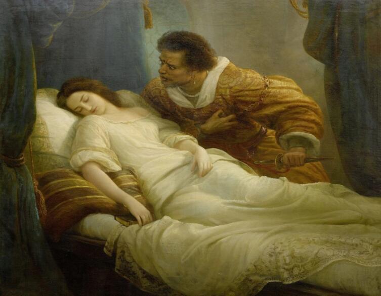 Кристиан Колер, «Отелло», 1859 г.