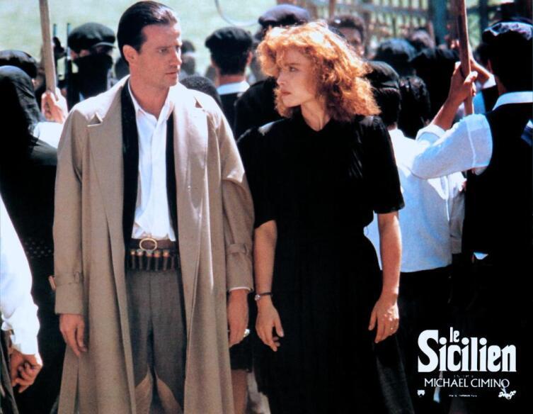 Кадр из к/ф «Сицилиец», 1987 г.