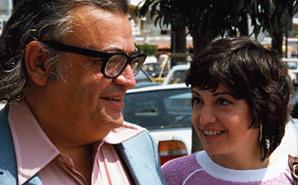 Марио Пьюзо и его жена Кэрол Джино