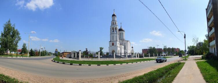 Церковь Илии Пророка в Апрелевке
