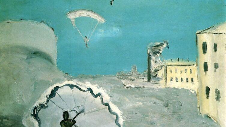 А. Д. Древин, «Спуск на парашюте», 1932 г.