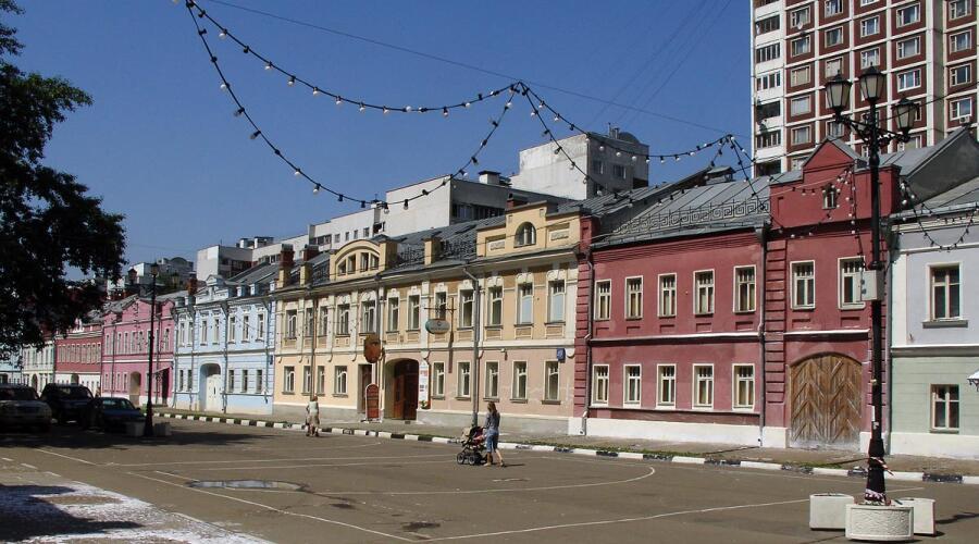 Рогожская слобода - исторический район Москвы