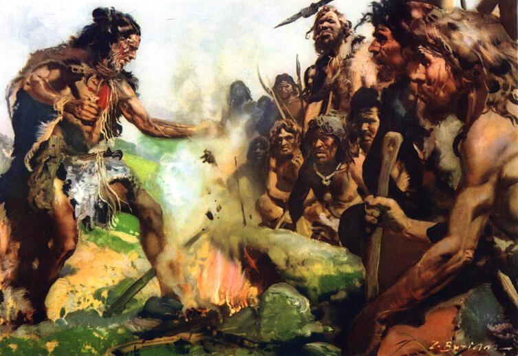 Картина Зденека Буриана