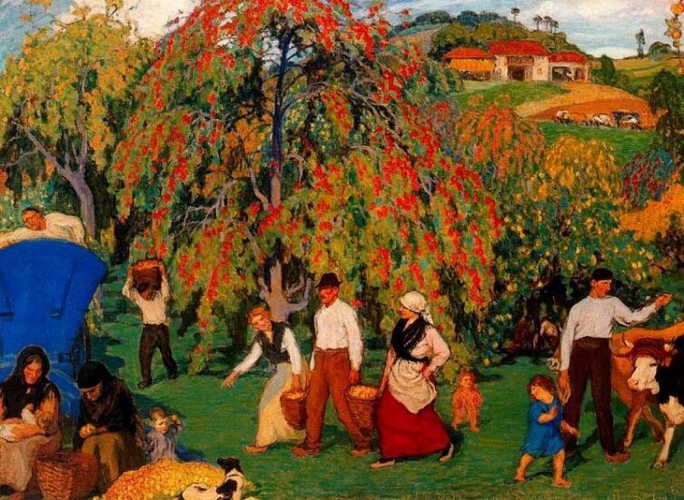 Никанор Пинол, «Сбор урожая»