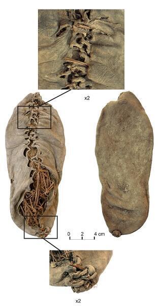 Обувь из пещеры Арени, самый древний кожаный ботинок
