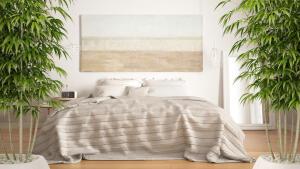 При выборе места для кровати можно учитывать направление своего успеха.