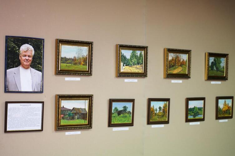 Выставка работ Ю. Г. Галая на «Дне памяти», г. Городец