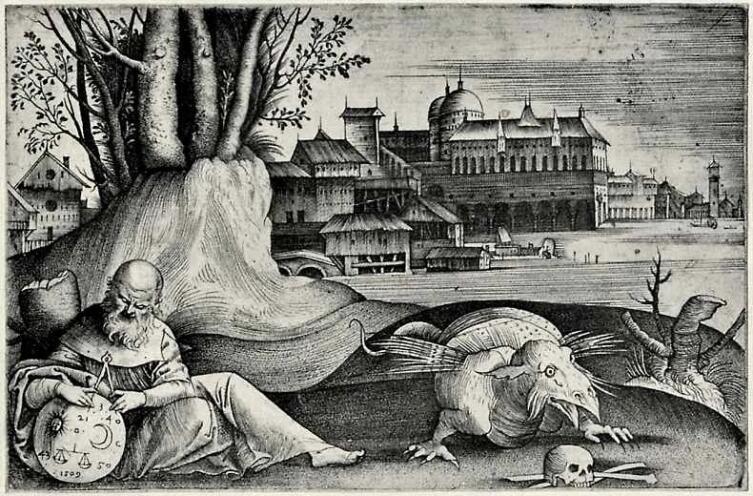 Джулио Кампаньола, «Астролог», 1509 г.