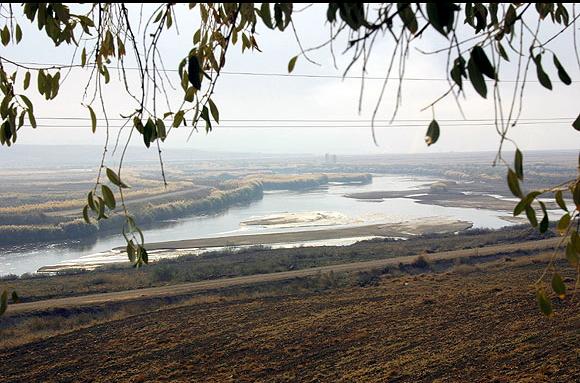 Вид на реку Кызылырмак (античное название Галис)