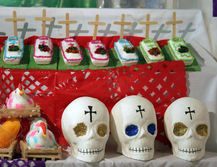 Традиционные сладости на День мертвых в Центральной Америке