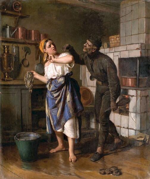 Ф. С. Журавлёв, «Трубочист», 1890-е гг.