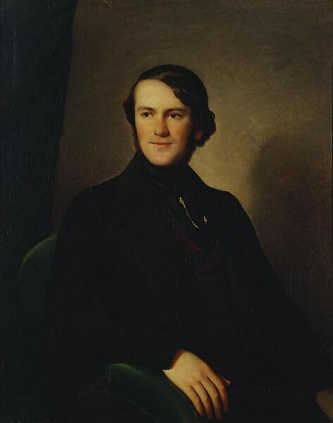 К. Штейбен, «Барон Александр Людвигович Штиглиц», 1840-е гг.