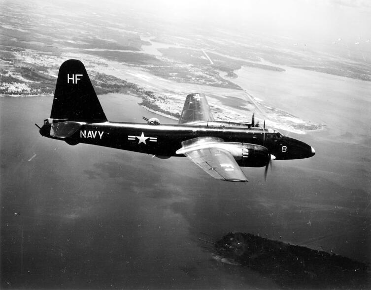 Самолет P2V-2 в 1952 г.