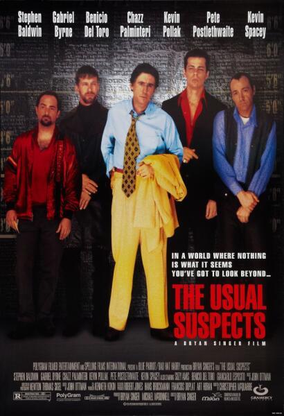 Постер к фильму «Подозрительные лица», 1995 г.