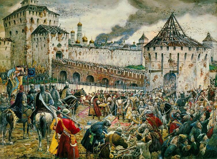 Э. Э. Лисснер, «Изгнание польских интервентов из Московского Кремля в 1612 году»