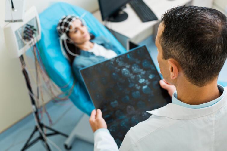 Что такое электроэнцефалограмма?