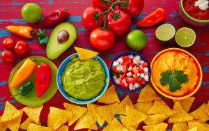 Как приготовить мексиканский салат?