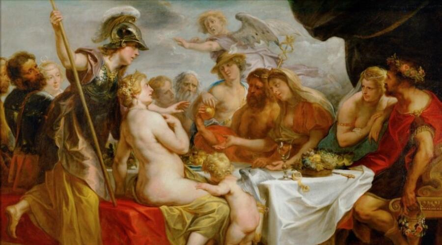 Якоб Йорданс, «Свадьба Пелея и Фетиды»