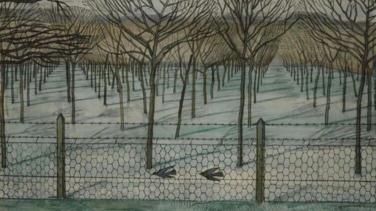 Пол Нэш, «Вишнёвый сад» (фрагмент)