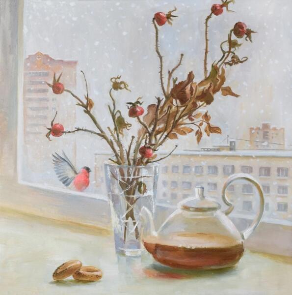 Светлана Сергеевна Козлобродова, «Чай с шиповником», 2019 г.