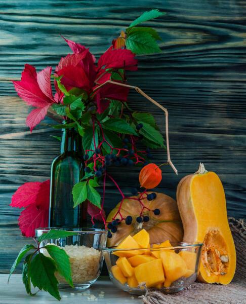 Как сделать сладкие тыквенные заготовки со вкусом экзотических фруктов?