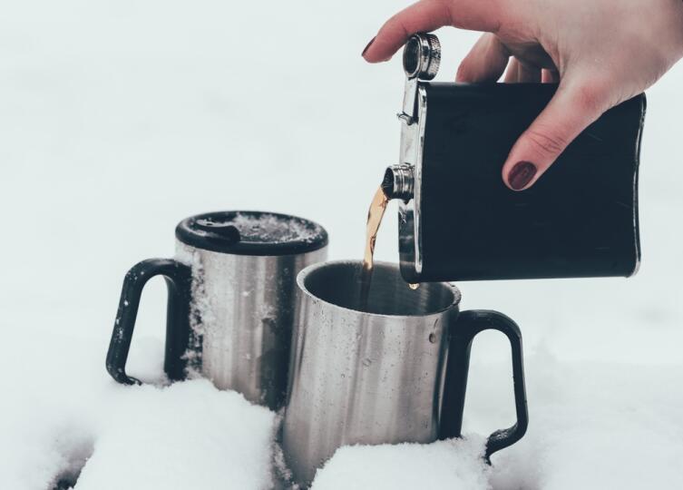 Как согреться на морозе?