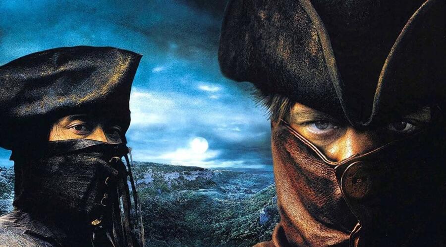 Постер (фрагмент) к к/ф «Братство волка», 2001 г.