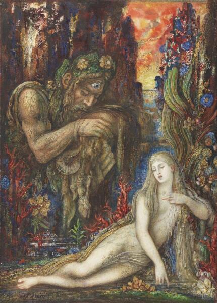 Гюстав Моро, «Галатея», 1896 г.
