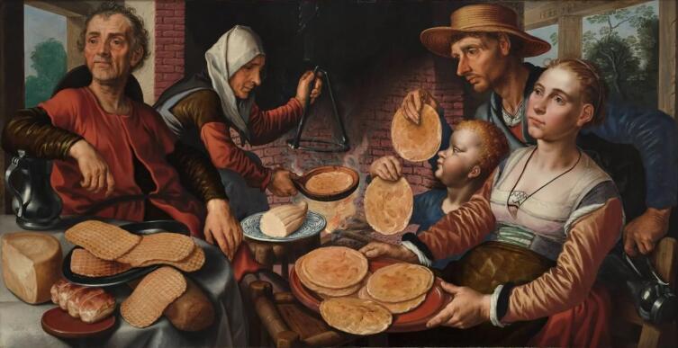 Питер Артсен, «Пекарня», 1560 г.