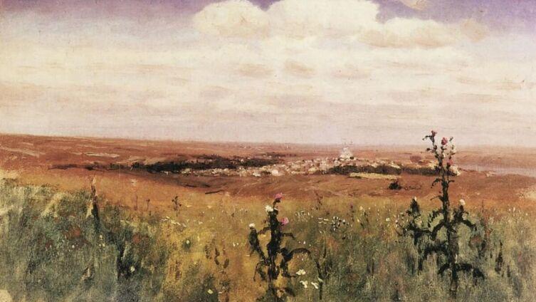 А. И. Куинджи, «Степь», 1875 г.