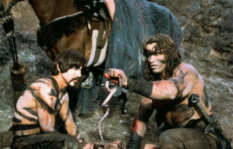 Кадр из к/ф «Конан-варвар», 1982 г.