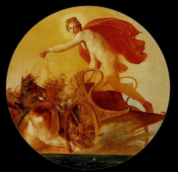 К. П. Брюллов, «Феб на колеснице», 1846 г.