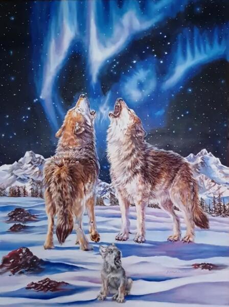 Марина Владимировна Боголюбова, «Волчья семья», 2010 г.