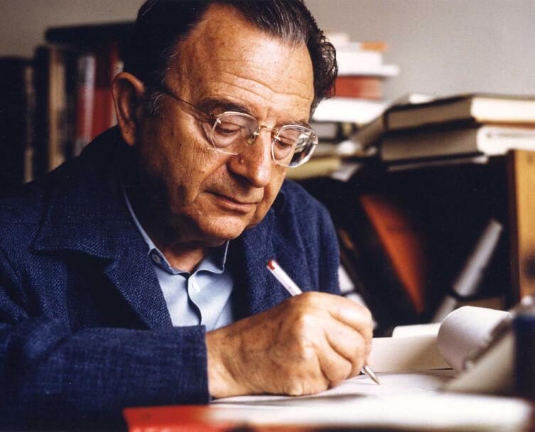 Эрих Фромм в 1974 году