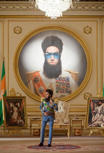 Кадр из к/ф «Диктатор», 2012 г.