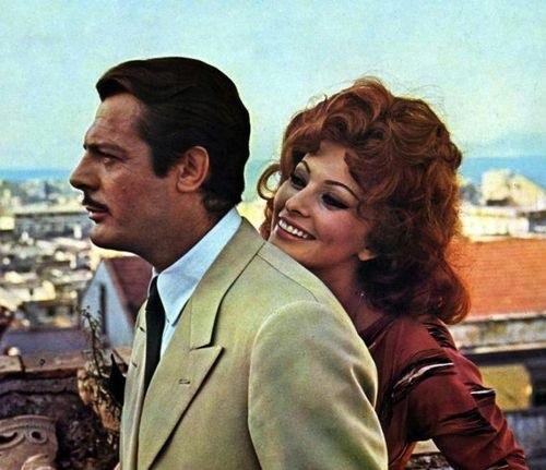 Кадр из к/ф «Брак по-итальянски», 1964 г.