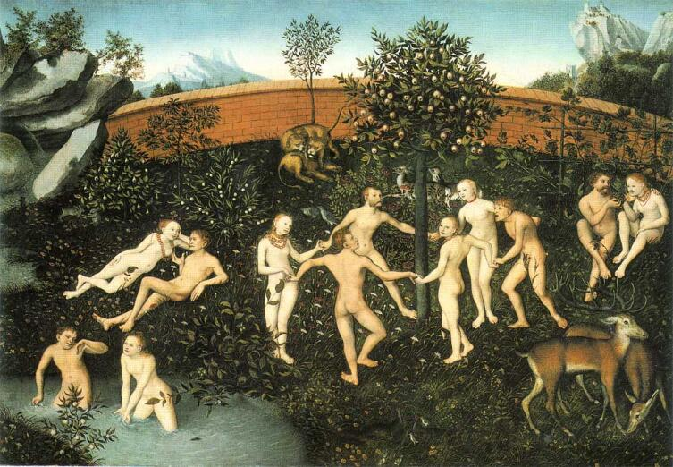 Лукас Кранах Старший, «Золотой век», 1530 г.