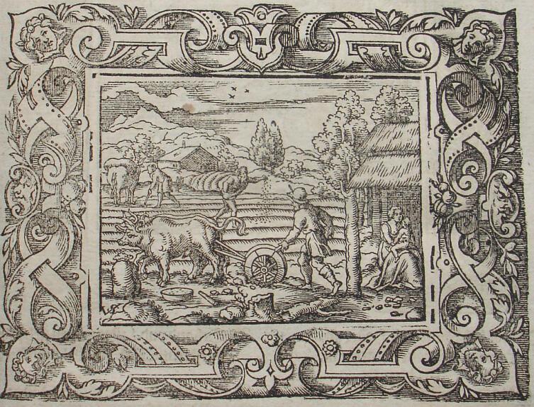 Вергилий Солис, «Серебряный век», иллюстрация к «Метаморфозам» Овидия, 1581 г.