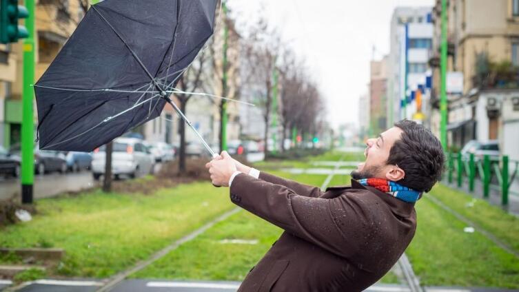 Зачем мужчине нужен зонт?
