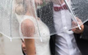 Чем хороши прозрачные зонты?