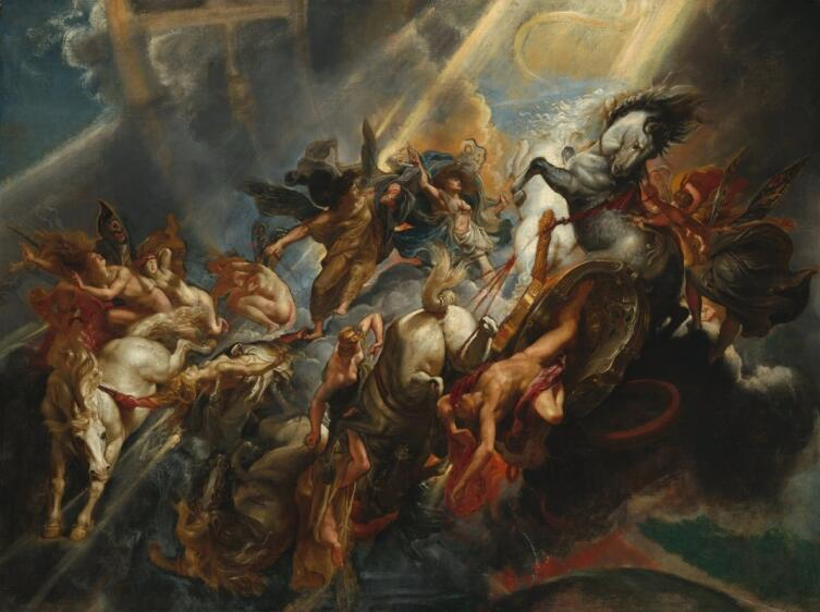 Питер Пауль Рубенс, «Падение Фаэтона», 1608 г.