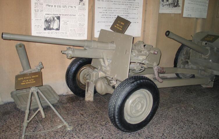 Английская противотанковая пушка Qf-2 (40мм)