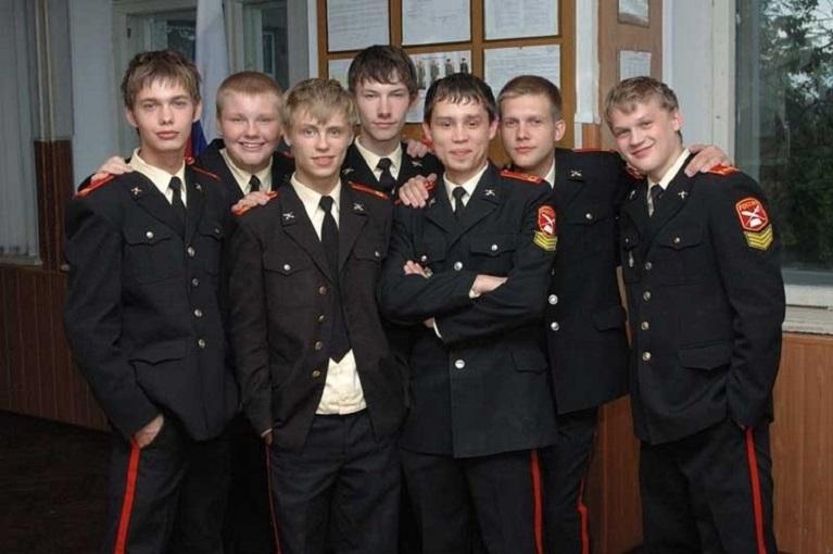 Кадр из т/с «Кадетство», 2006-07 гг.