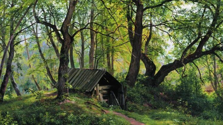 И. И. Шишкин, «Старые липы», 1894 г.