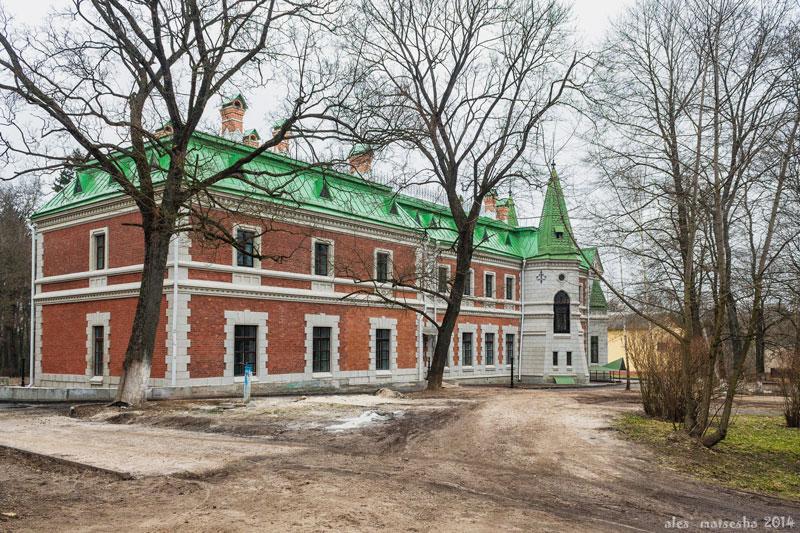 Дворец Козел-Паклевских. Красный Берег, Беларусь