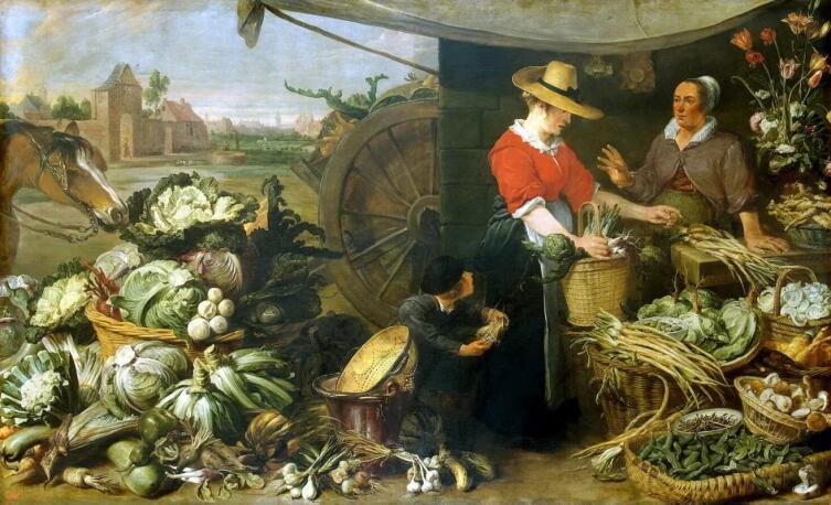Франс Снейдерс, «Овощная лавка»